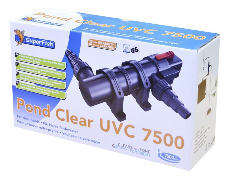 SUPERFISH PONDCLEAR UVC