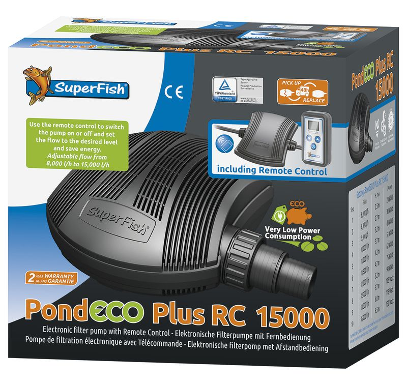PondECO plus RC 15000