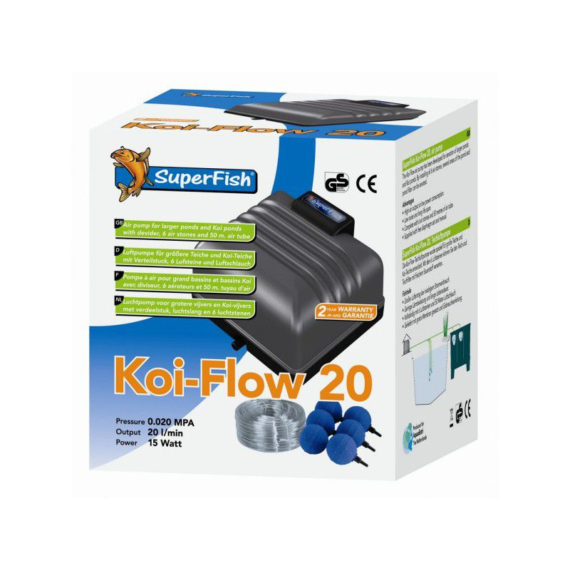 Superfish Koi-Flow en kit